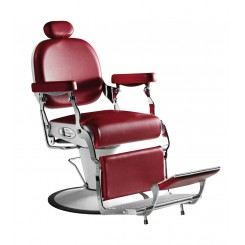 SA - PREMIER - Barberstol med ekstra fodstøtte