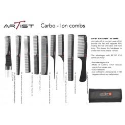 ARTIST Carbon - Ion kammeset - 9 stk.